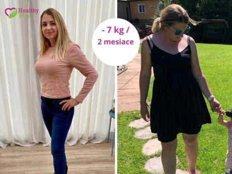 schudnutie 7 kg